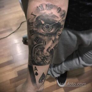 Фото интересного рисунка мужской тату 05.04.2021 №098 - male tattoo - tatufoto.com