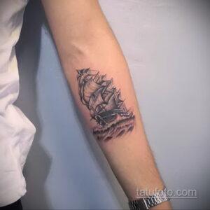 Фото интересного рисунка мужской тату 05.04.2021 №105 - male tattoo - tatufoto.com