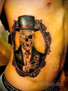 Фото интересного рисунка мужской тату 05.04.2021 №122 - male tattoo - tatufoto.com