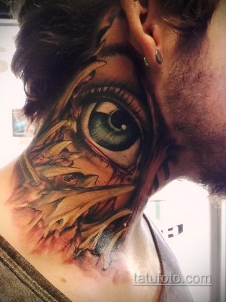 Фото интересного рисунка мужской тату 05.04.2021 №139 - male tattoo - tatufoto.com