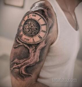 Фото интересного рисунка мужской тату 05.04.2021 №145 - male tattoo - tatufoto.com