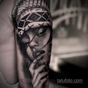 Фото интересного рисунка мужской тату 05.04.2021 №146 - male tattoo - tatufoto.com