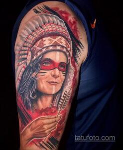 Фото интересного рисунка мужской тату 05.04.2021 №148 - male tattoo - tatufoto.com