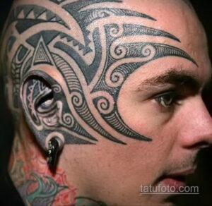 Фото интересного рисунка мужской тату 05.04.2021 №152 - male tattoo - tatufoto.com