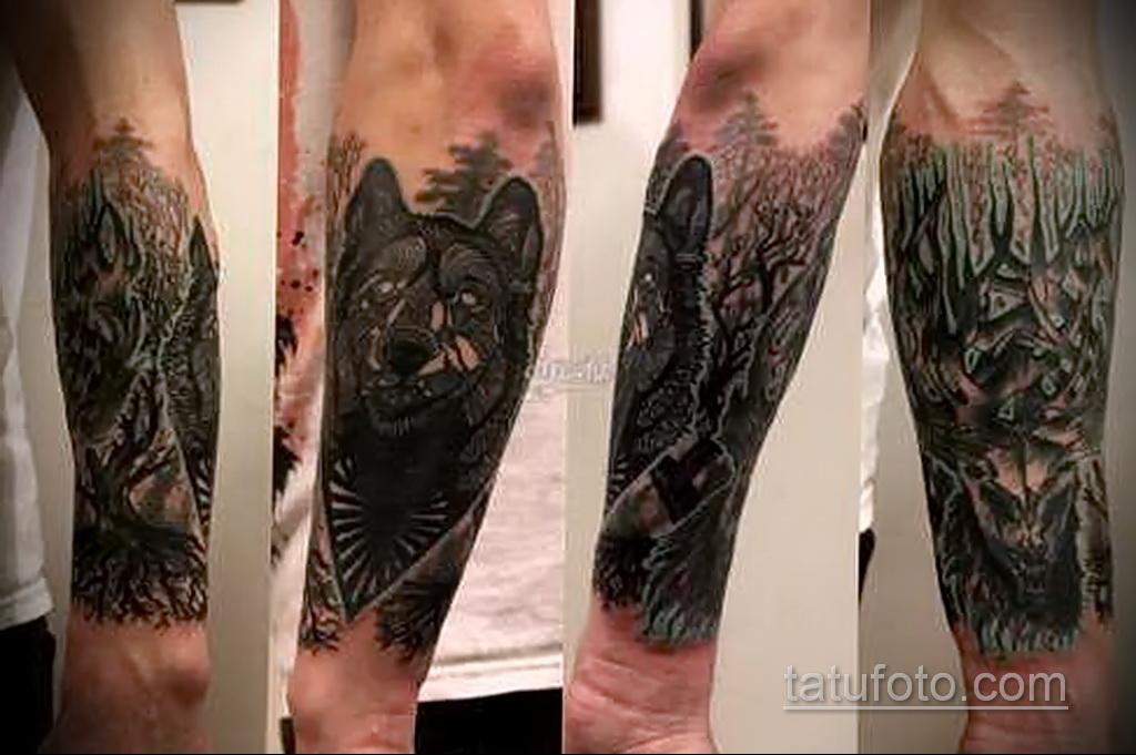 Фото интересного рисунка мужской тату 05.04.2021 №165 - male tattoo - tatufoto.com