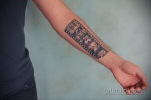 Фото интересного рисунка мужской тату 05.04.2021 №167 - male tattoo - tatufoto.com