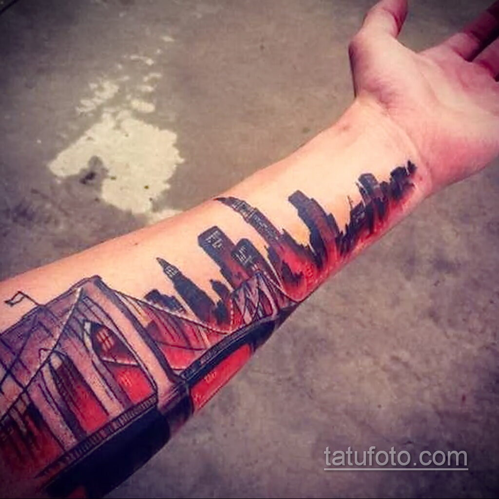 Фото интересного рисунка мужской тату 05.04.2021 №168 - male tattoo - tatufoto.com