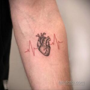 Фото интересного рисунка мужской тату 05.04.2021 №170 - male tattoo - tatufoto.com