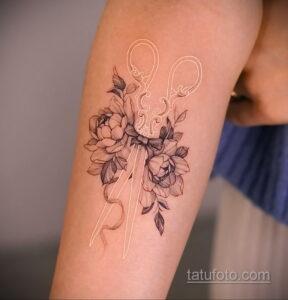Фото интересного рисунка татуировки 04.04.2021 №009 - cool tattoo - tatufoto.com