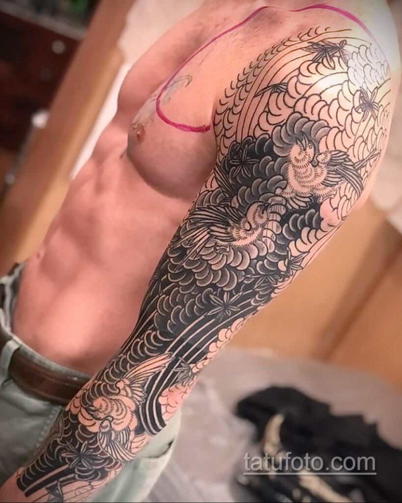 Фото интересного рисунка татуировки 04.04.2021 №232 - cool tattoo - tatufoto.com