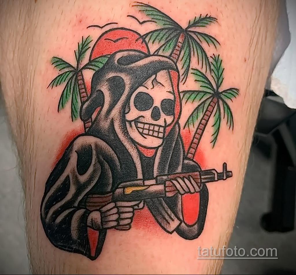 Фото интересного рисунка татуировки 04.04.2021 №233 - cool tattoo - tatufoto.com