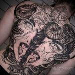 Фото интересного рисунка татуировки 04.04.2021 №268 - cool tattoo - tatufoto.com