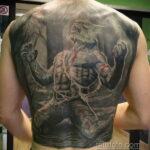 Фото татуировки с оборотнем 01.04.2021 №464 - werewolf tattoo - tatufoto.com