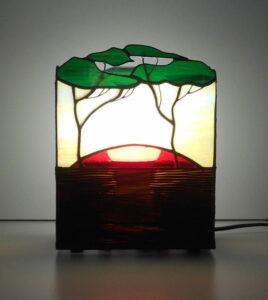 Витражные светильники ручной работы - фото 3