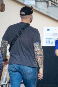 Брутальные тату рукава на руках у мужчины – Фото Уличная тату (street tattoo) № 13 – 27.06.2021 1
