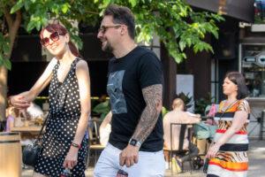 Маори узоры в тату рукаве на левой руке парня – Фото Уличная тату (street tattoo) № 13 – 27.06.2021 3