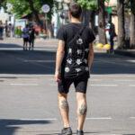 Тату Фреди Урюгер и Джейсон на икрах парня – Фото Уличная тату (street tattoo) № 13 – 27.06.2021 5