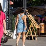 Тату круг с цветами и узорами на спине девушки – Фото Уличная тату (street tattoo) № 13 – 27.06.2021 4