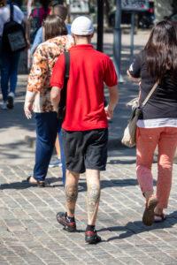 Тату маори узоры на икрах парня – Фото Уличная тату (street tattoo) № 13 – 27.06.2021 6