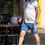 Тату морячка и якорь внизу ноги мужчины – Фото Уличная тату (street tattoo) № 13 – 27.06.2021 4
