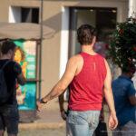 Тату надпись ГЕНРИХ на левой руке парня – Фото Уличная тату (street tattoo) № 13 – 27.06.2021 5