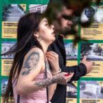 Тату портрет девушки на правом плече у девушки – Фото Уличная тату (street tattoo) № 13 – 27.06.2021 5