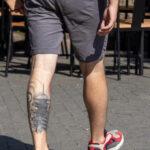 Тату с крышей монастыря в японском стиле – Фото Уличная тату (street tattoo) № 13 – 27.06.2021 1
