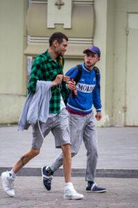Тату с силуэтом баскетболиста в прыжке на ноге парня – Фото Уличная тату (street tattoo) № 13 – 27.06.2021 8
