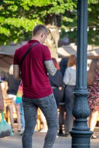 Тату узоры и геометрические узоры на правой руке у парня – Фото Уличная тату (street tattoo) № 13 – 27.06.2021 3