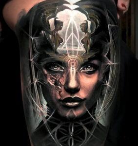 Фото интересной татуировки 02.06.2021 №004 - cool tattoo - tatufoto.com