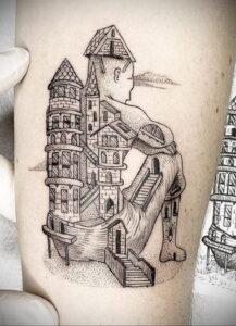 Фото интересной татуировки 02.06.2021 №013 - cool tattoo - tatufoto.com