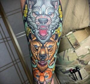 Фото интересной татуировки 02.06.2021 №024 - cool tattoo - tatufoto.com