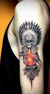 Фото интересной татуировки 02.06.2021 №074 - cool tattoo - tatufoto.com