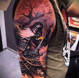 Фото интересной татуировки 02.06.2021 №075 - cool tattoo - tatufoto.com