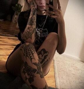 Фото интересной татуировки 02.06.2021 №078 - cool tattoo - tatufoto.com