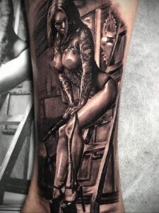 Фото интересной татуировки 02.06.2021 №088 - cool tattoo - tatufoto.com