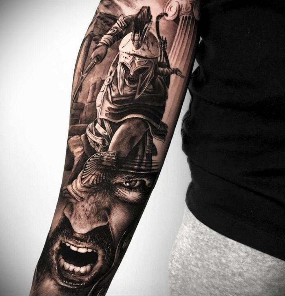 Фото интересной татуировки 02.06.2021 №094 - cool tattoo - tatufoto.com