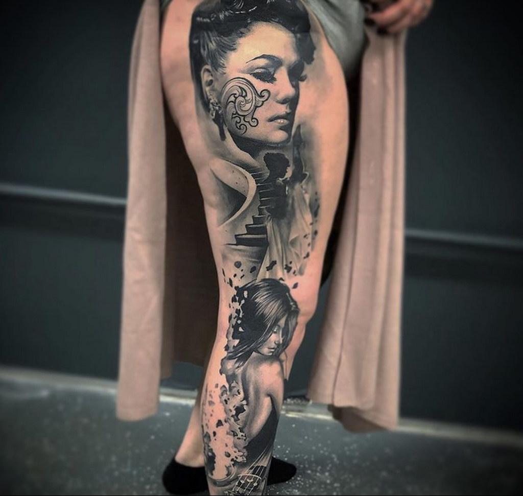 Фото интересной татуировки 02.06.2021 №107 - cool tattoo - tatufoto.com