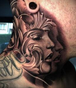 Фото интересной татуировки 02.06.2021 №108 - cool tattoo - tatufoto.com