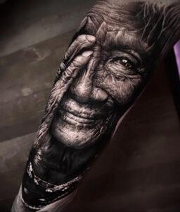 Фото интересной татуировки 02.06.2021 №110 - cool tattoo - tatufoto.com