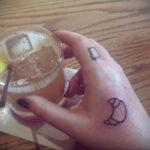 Фото татуировки круассан 05.06.2021 №182 - croissant tattoo - tatufoto.com