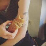 Фото татуировки круассан 05.06.2021 №188 - croissant tattoo - tatufoto.com