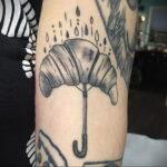 Фото татуировки круассан 05.06.2021 №204 - croissant tattoo - tatufoto.com