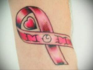 Фото тату Розовая ленточка 20.06.2021 №169 - tattoo pink ribbon - tatufoto.com