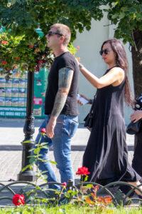 Черно-зеленый рукав в тату на руке парня – Фото Уличная тату (street tattoo) № 13 – 27.06.2021 2