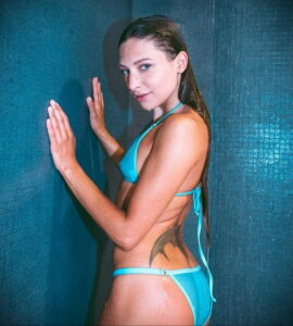 Фото Принятие душа с татуировкой 04.07.2021 №095 -Showering with a tattoo- tatufoto.com