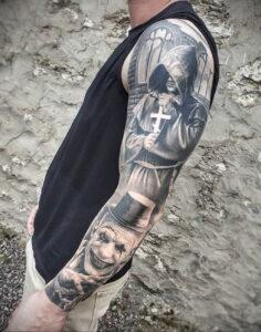 Фото рисунка татуировки 03.03.2021 №043 - tattoo drawing - tatufoto.com