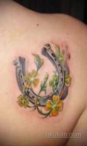 Фото рисунока тату с подковой 22.07.2021 №025 - drawing tattoo horseshoe - tatufoto.com