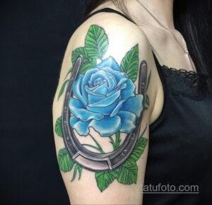 Фото рисунока тату с подковой 22.07.2021 №064 - drawing tattoo horseshoe - tatufoto.com