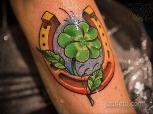 Фото рисунока тату с подковой 22.07.2021 №070 - drawing tattoo horseshoe - tatufoto.com